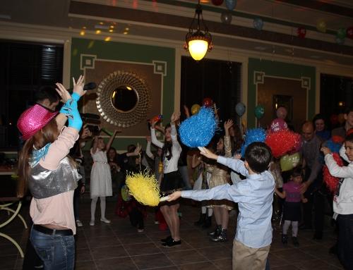 Первый детский праздник в Green Villa!