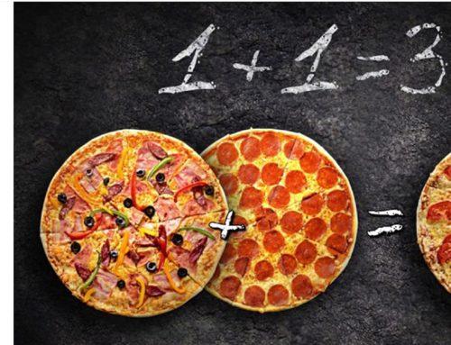 Pizza у подарунок у GREEN VILLA!